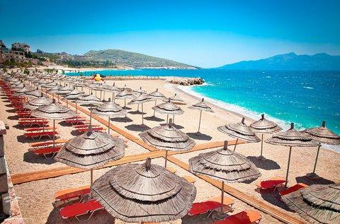 All inclusive vakáció Albánia homokos tengerpartján