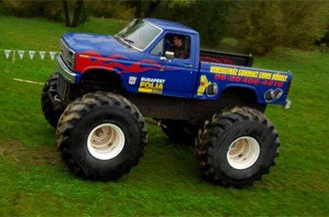 3 kör Monster Truck BigFoot vezetés Veresegyházon