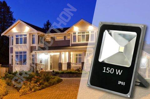 150 W-os LED technológiás reflektor kül- és beltérre
