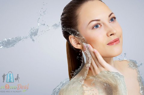 Teljes körű arctisztítás Solanie termékekkel