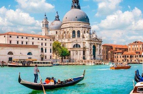Látogatás a lagúnák városában, Velencében