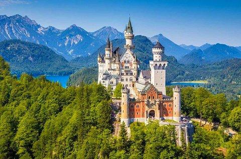 Látogass el a mesés Neuschwanstein kastélyhoz!
