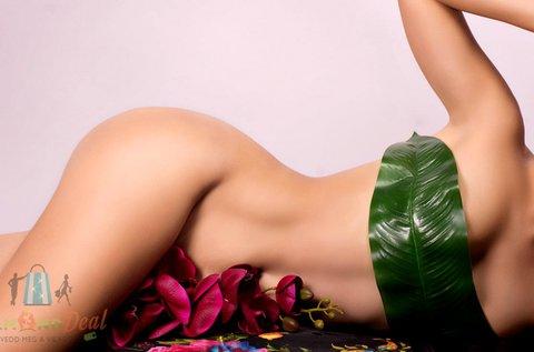 Teljes láb, hónalj és bikinivonal gyantázása
