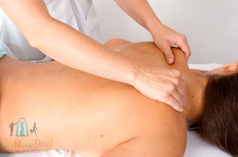 Fájdaloműző olajos gyógymasszázs 30 percben