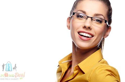 Szemüvegkészítés normál egyfókuszú lencsével