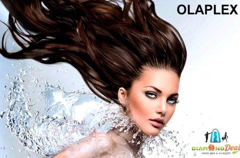 Olaplex hajfiatalító kezelés lapockáig érő hajra