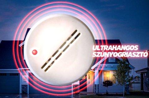 Ultrahangos szúnyogriasztó készülék fehér színben