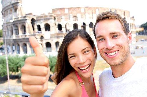 4 napos őszi városnézés Rómában repülővel