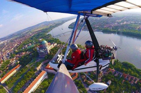 Motoros sárkányrepülés 1 főnek a Dunakanyarban
