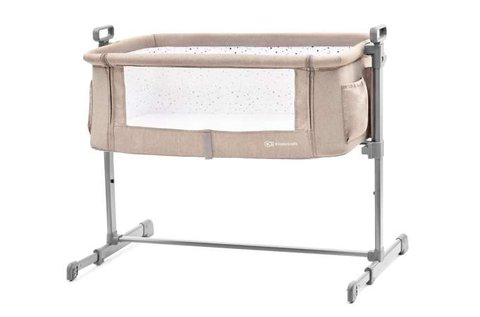 Kinderkraft Neste szülői ágyhoz kapcsolható kiságy