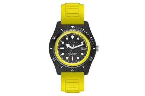 Nautica férfi karóra sárga-fekete színben