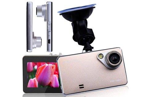 Autós eseményrögzítő kamera full HD felbontással