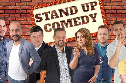 Stand up comedy live belépő snack vacsorával