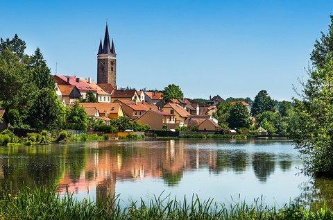 Látogatás a hangulatos cseh kisvárosban, Telcben