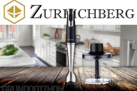 Zurrichberg botmixer szett 800 W-os teljesítménnyel