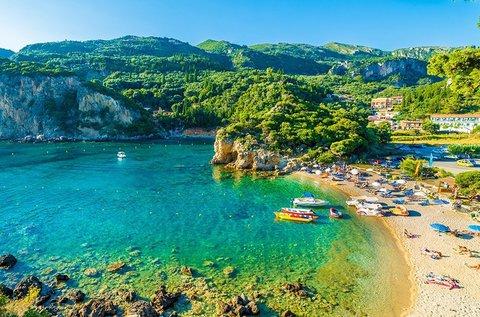 1 hetes mediterrán vakáció a szépséges Korfun
