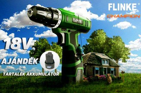 Flinke akkumulátoros fúró- és csavarozó gép
