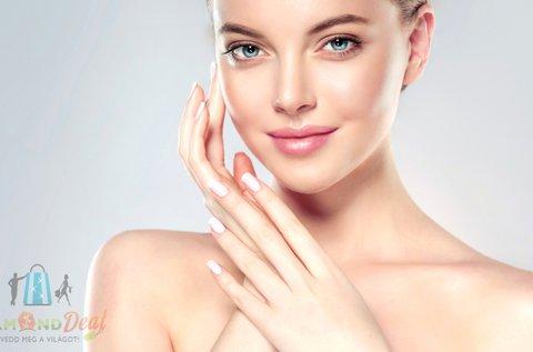 Komplex arctisztító kezelés ultrahanggal, hölgyeknek