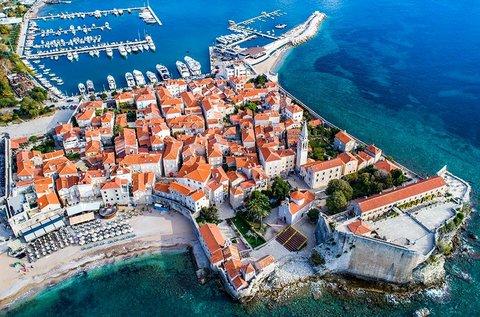 1 hetes tengerparti üdülés októberig Montenegróban