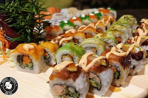 30 db-os sushi válogatás a Buddha Originalban