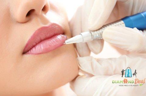 3D szájsatír normál vagy keskeny ajkakra