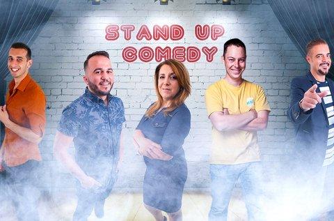 Stand up comedy est belépő vacsorával 1 fő részére