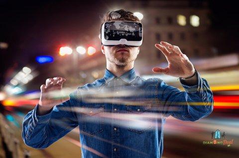60 perces szimulátorozás igazi VR szemüveggel