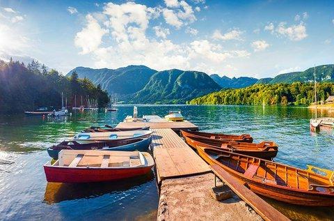 Tökéletes feltöltődés a szépséges Bohinji-tó mellett