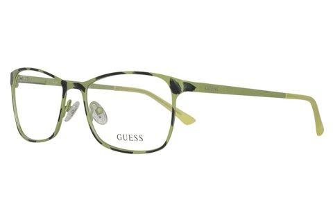 Divatos Guess unisex szemüvegkeret zöld színben