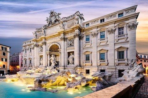 Őszi-téli feltöltődés az olasz fővárosban, Rómában
