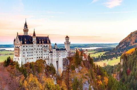 Buszos utazás a mesés Neuschwanstein kastélyhoz