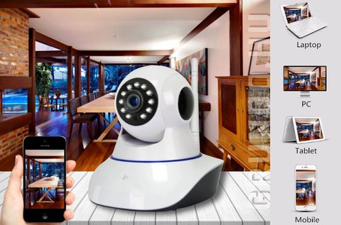 Daytech Pro forgatható és dönthető wifi IP kamera