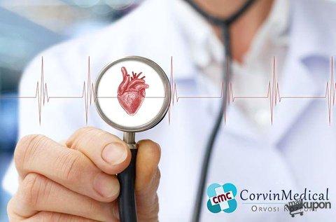 Kardiológiai szűrés EKG, terheléses EKG vizsgálattal