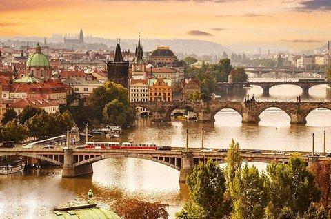 3 napos pihenés áprilisig a száztornyú Prágában