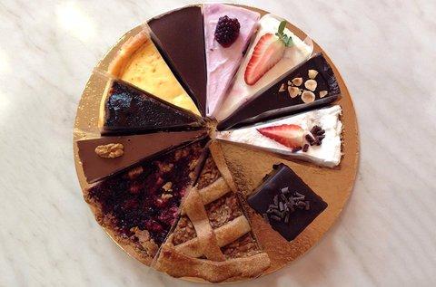 6 szeletes különleges sütemény válogatás