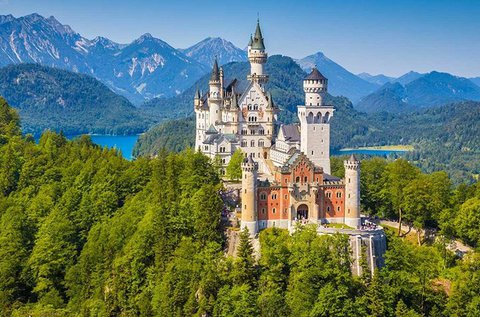 Kirándulás a mesebeli Neuschwanstein kastélyhoz