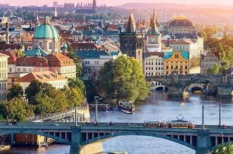 Prágai kiruccanás Kozel sörgyár látogatással