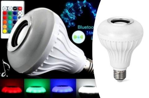 Bluetooth party LED fényforrás E27-es foglalattal