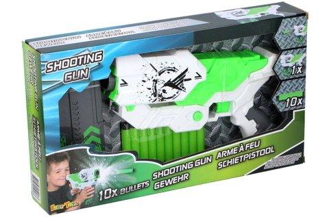 Shooting Nerf Gun pisztoly habszivacs töltényekkel