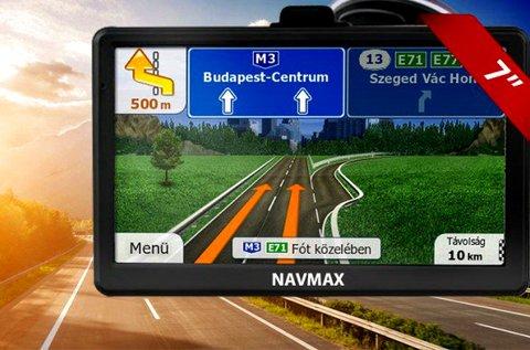 Navmax GPS navigációs készülék Európa térképpel