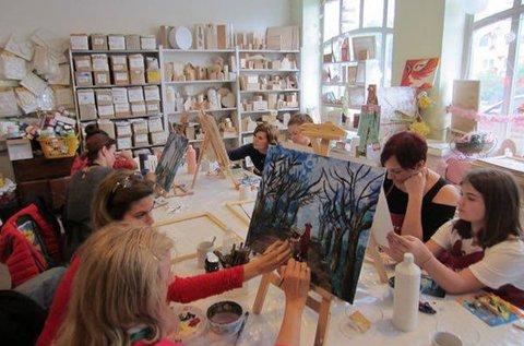 4 alkalmas tematikus festőtanfolyam kezdőknek