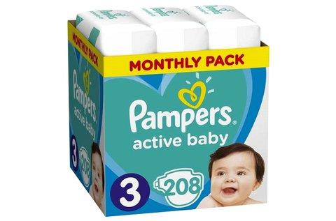 Pampers Active Baby havi pelenkacsomag