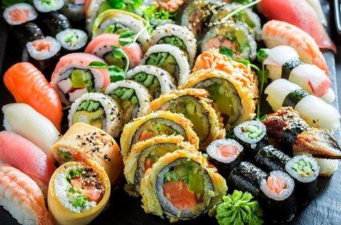 34 db-os lazacos sushi válogatás 2 fő részére
