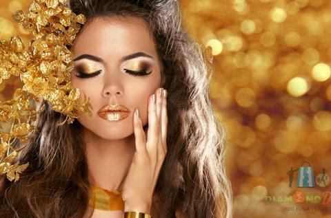 Rádiófrekvenciás arckezelés hyaluronnal és arannyal
