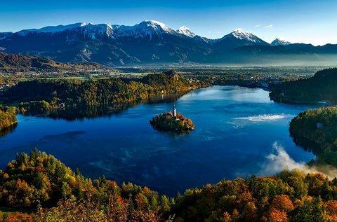 3 napos feltöltődés a festői Bledi-tó partján