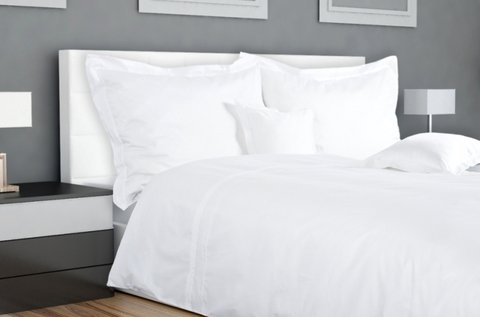 7 részes ágyneműhuzat garnitúra hófehér színben