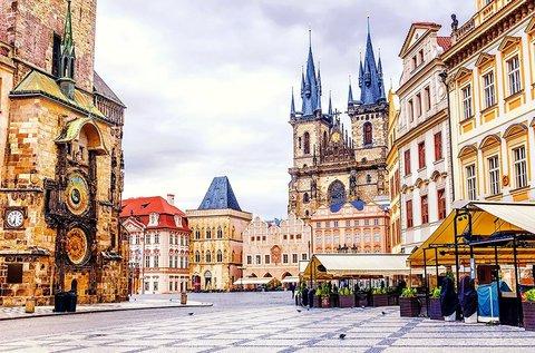 3 napos feltöltődés év végéig Prága belvárosában