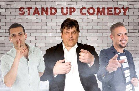 Stand up comedy est vacsorával 1 fő részére