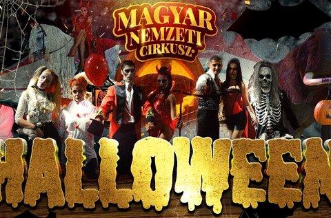 Halloween éjszaka a Cirkuszban