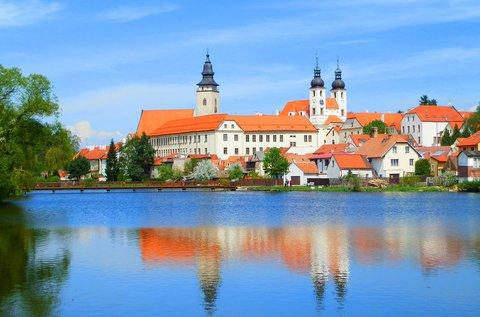 Hangulatos pihenés a cseh kisvárosban, Telcben